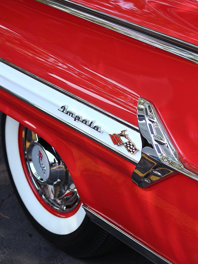 1960 Chevy Photograph - 1960 Chevy Impala by Rosanne Jordan