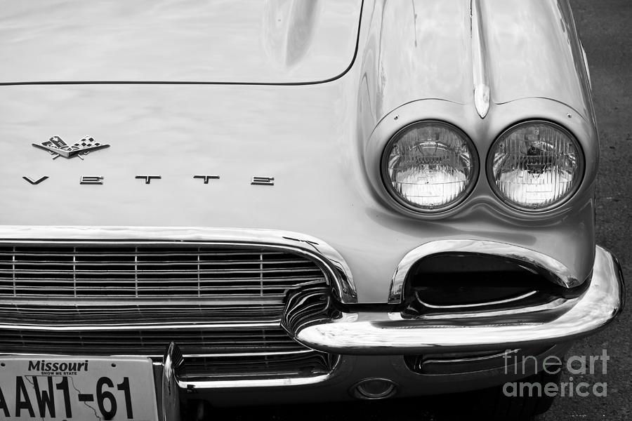 Corvette Photograph - 1961 Vette by Dennis Hedberg