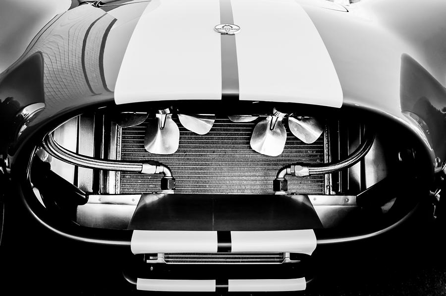 1965 Shelby Cobra Grille Photograph - 1965 Shelby Cobra Grille by Jill Reger