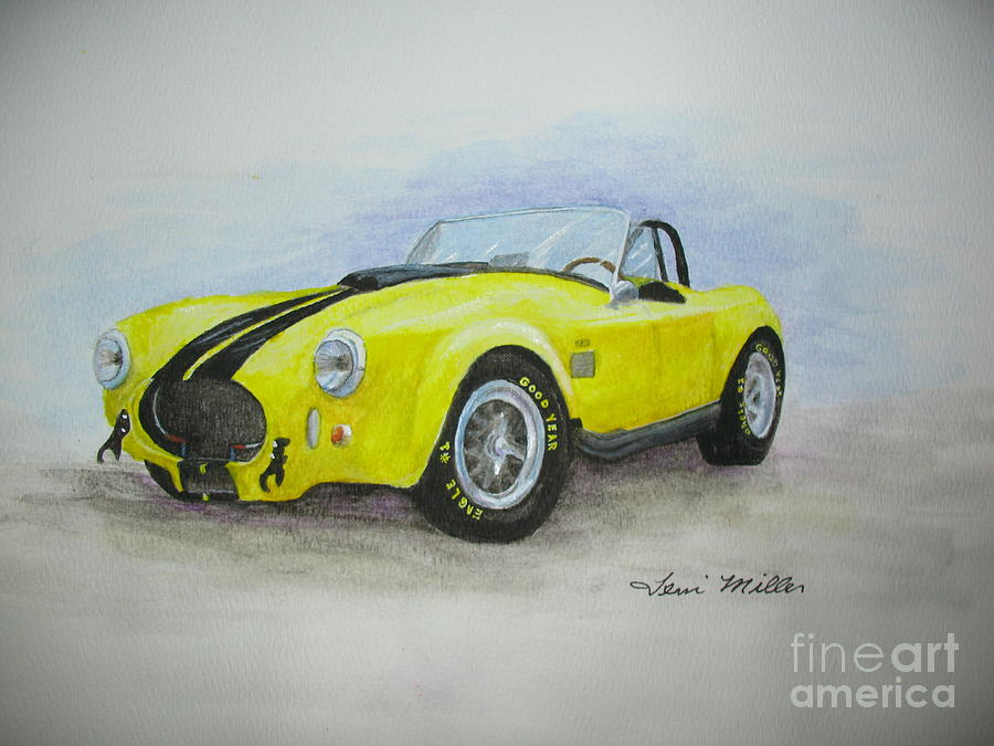 Cars Painting - 1965 Shelby Cobra by Terri Maddin-Miller