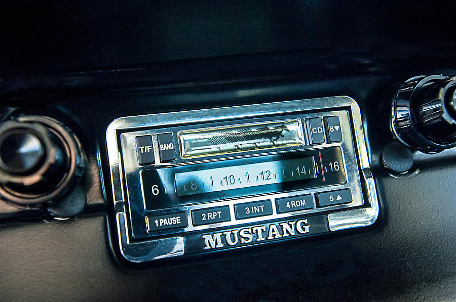 1965 Shelby Prototype Ford Mustang Radio Photograph By Jill Regerrhfineartamerica: Ford Mustang Audio At Elf-jo.com