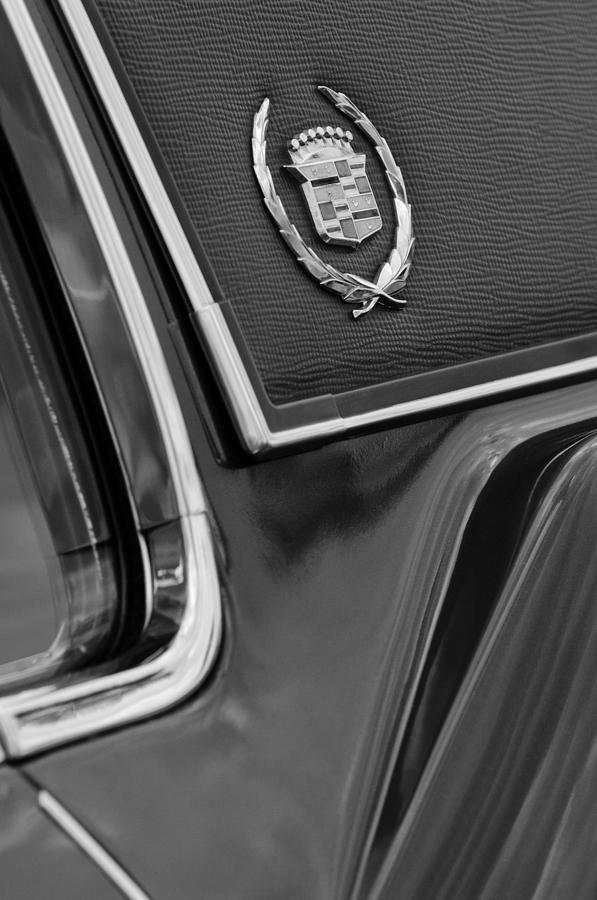 1969 Cadillac Eldorado Emblem Photograph - 1969 Cadillac Eldorado Emblem by Jill Reger