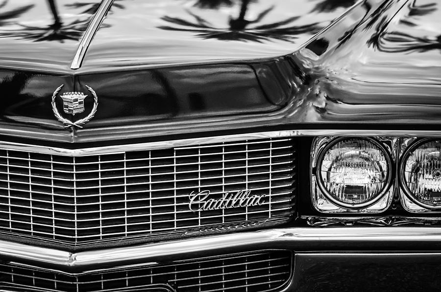 1969 Cadillac Eldorado Grille Photograph - 1969 Cadillac Eldorado Grille by Jill Reger