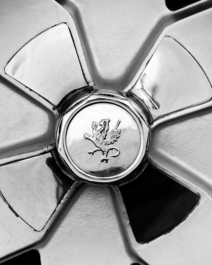 Isetta Photograph - 1971 Iso Fidia Wheel Emblem by Jill Reger