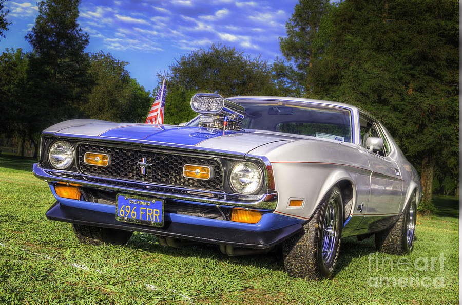 1972 Ford Mustang Coupe Photograph By Pierre Miller