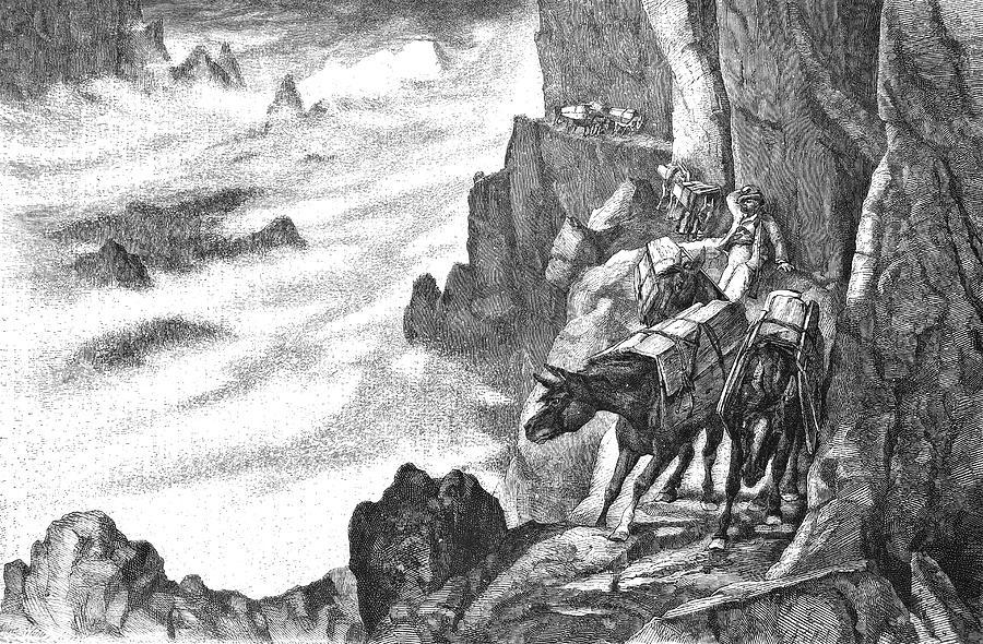History Photograph - 19th Century Smugglers by Bildagentur-online/tschanz