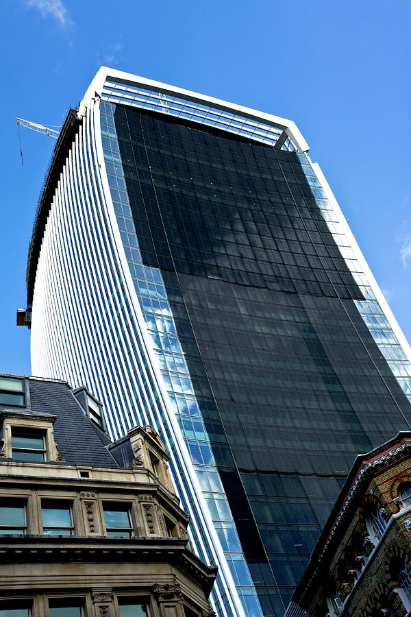 20 Fenchurch Street Photograph - 20 Fenchurch Street Skyscraper by Carlos Dominguez/science Photo Library