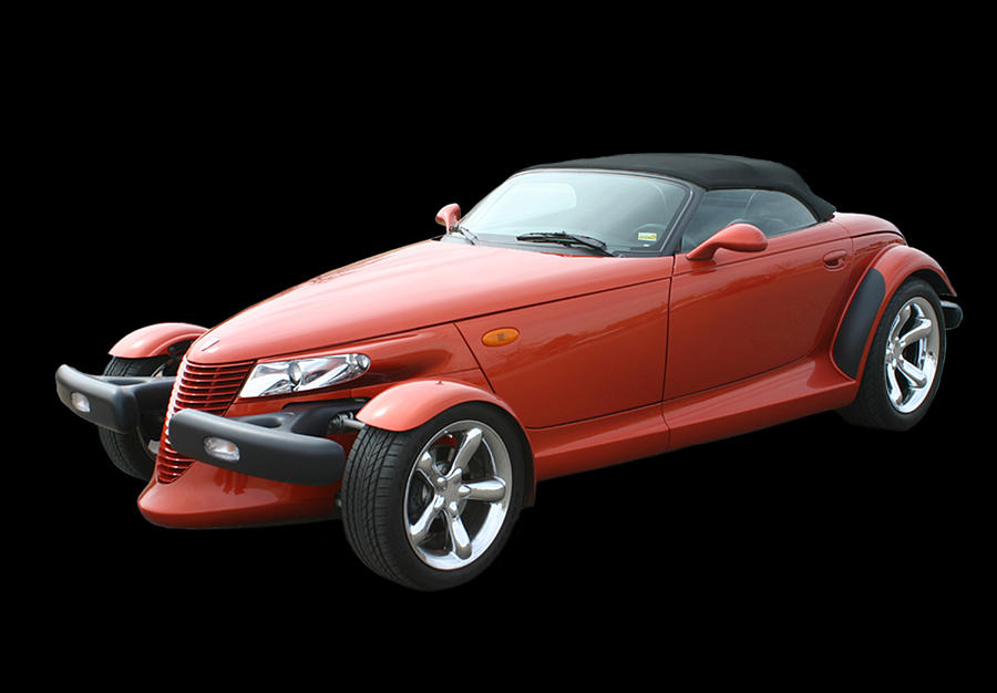 Ohio Photograph - 2002 Plymouth Prowler by Jack Pumphrey