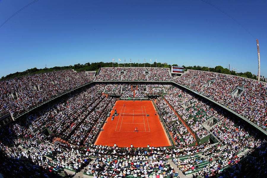 2015 French Open - Day Fourteen Photograph by Clive Brunskill