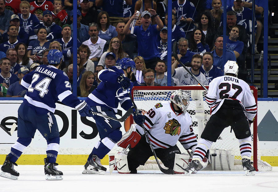 2015 Nhl Stanley Cup Final - Game Two Photograph by Dave Sandford