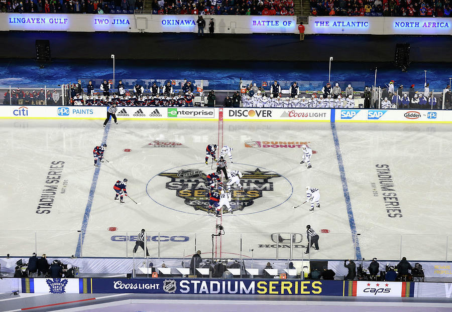 2018 Coors Light Nhl Stadium Series - Photograph by Jeff Vinnick