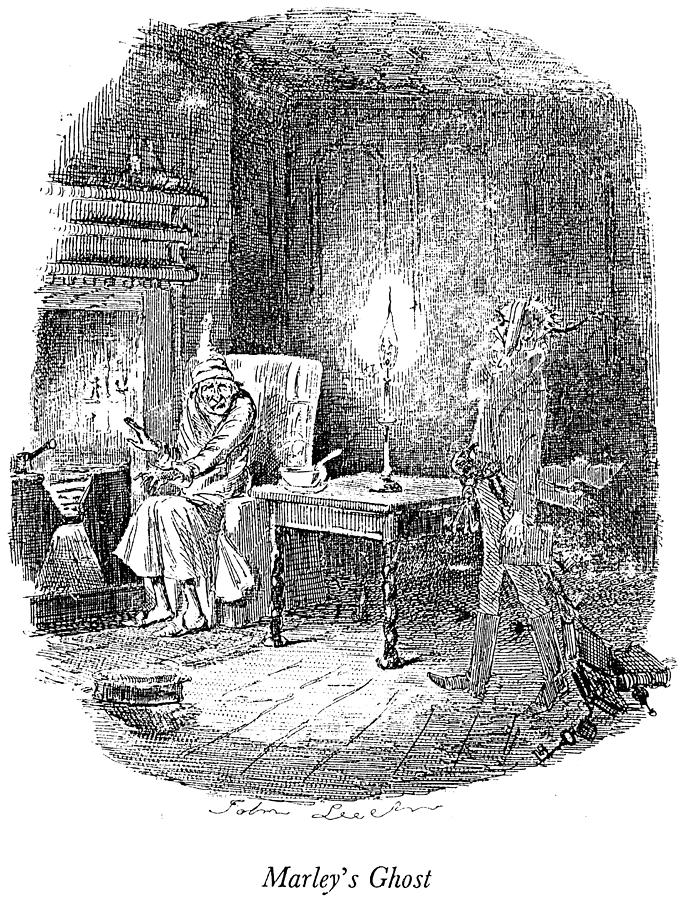 A Christmas Carol Drawing By Granger