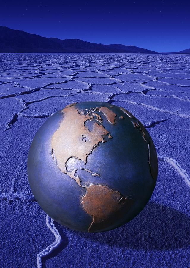 A Globe Photograph