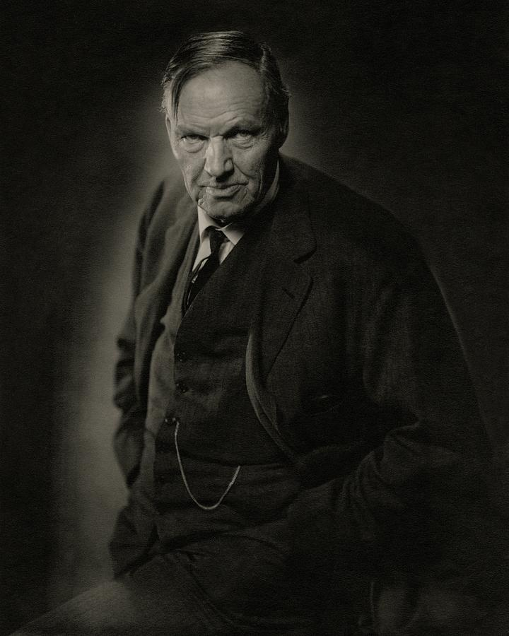 A Portrait Of Clarence Darrow Photograph by Nickolas Muray