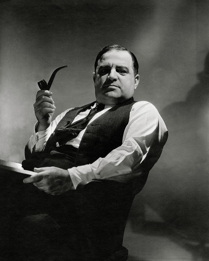 A Portrait Of Fiorello La Guardia Photograph by Lusha Nelson