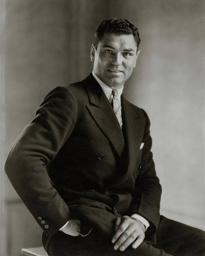 A Portrait Of Jack Dempsey Photograph by Edward Steichen