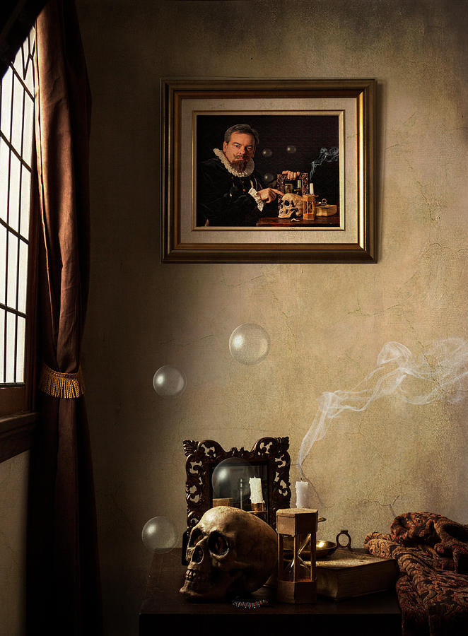 Dutch Golden Age Photograph - A Vanitas For The Stadhouder by Levin Rodriguez