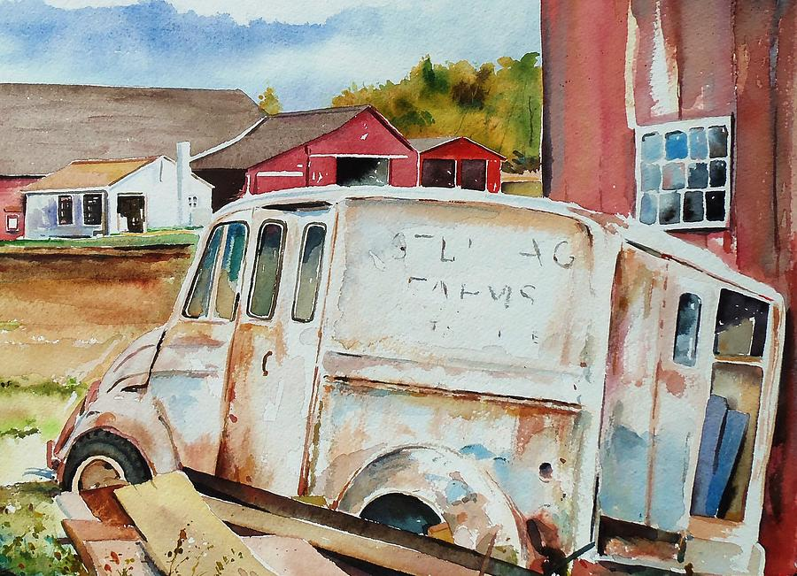 Barn Painting - Forgotten Delivery  by Scott Nelson