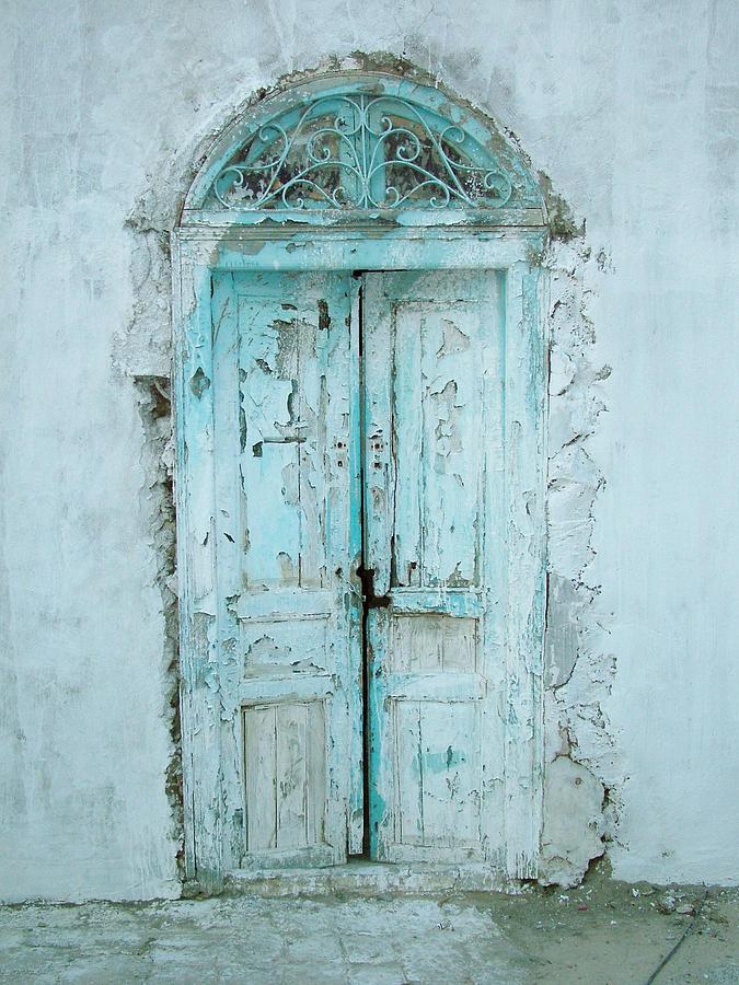 Abandoned Doorway Photograph