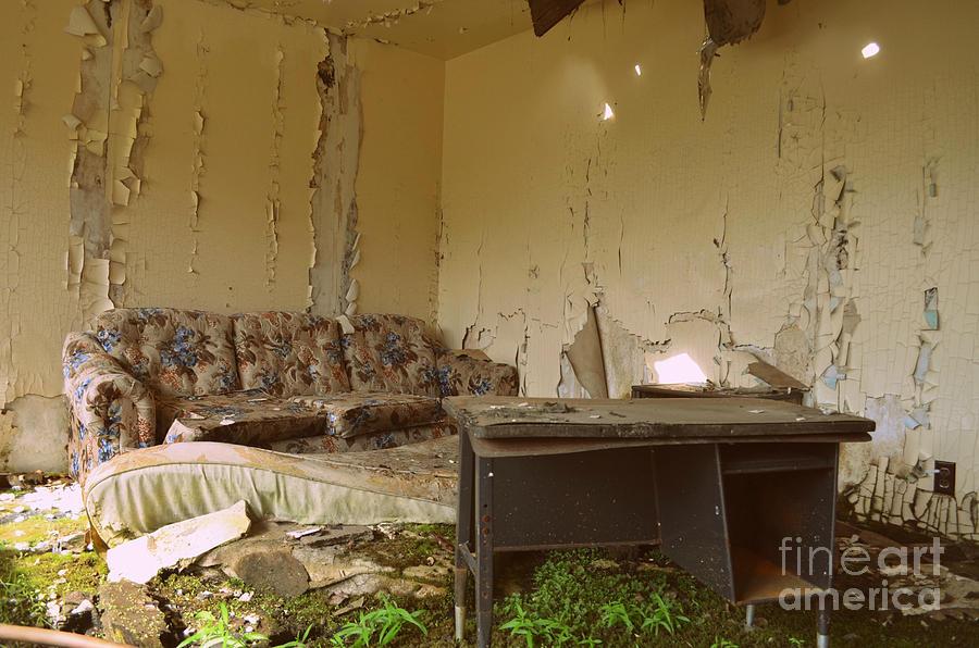 Abandoned Photograph - Abandoned by Kiana Carr