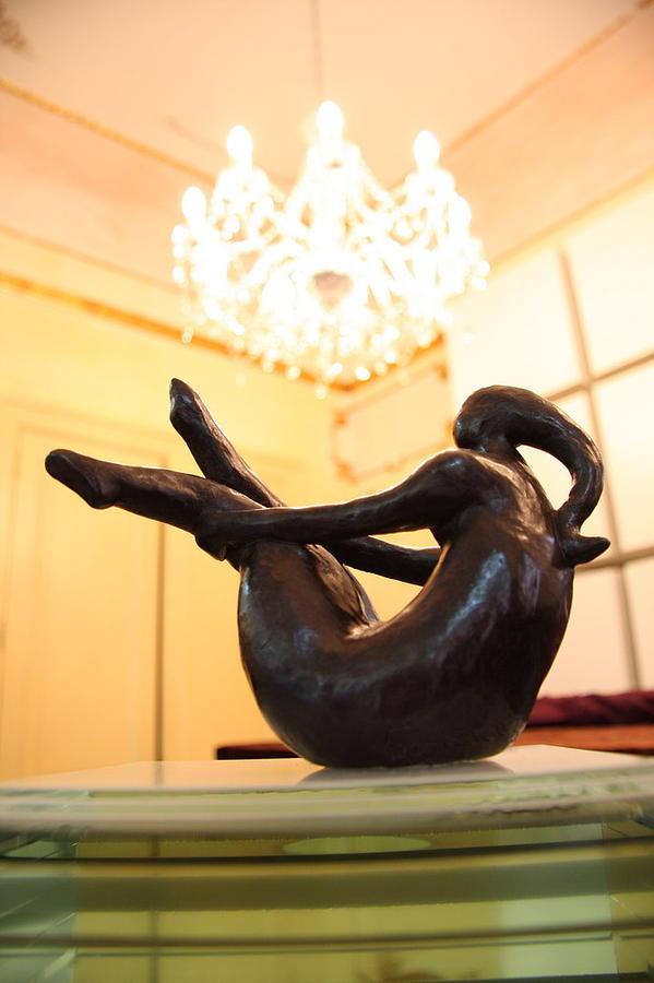 Sculpture Sculpture - Abbraccio Solitario by Francesca Bianconi