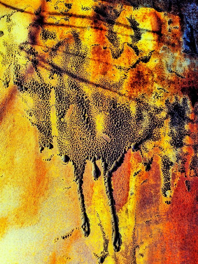 Abstract Photograph - Ablaze by Tom Druin