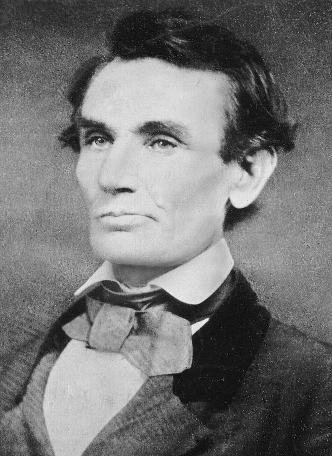 Male Photograph - Abraham Lincoln by Unknown