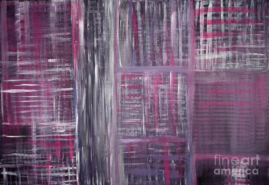 Acrylics Painting - Abstract #1 by Angela Bruno