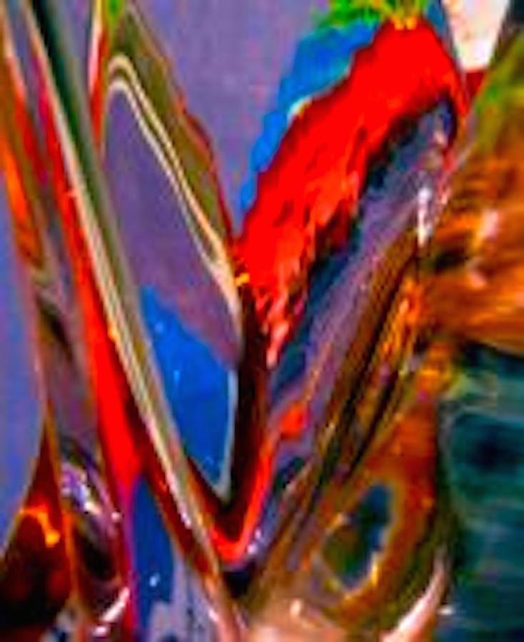 Red Photograph - Abstract 4786 by Stephanie Moore