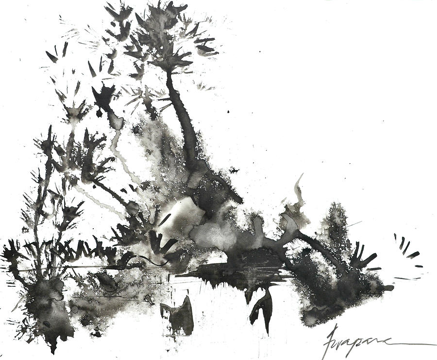 Abstract Ink Art 1