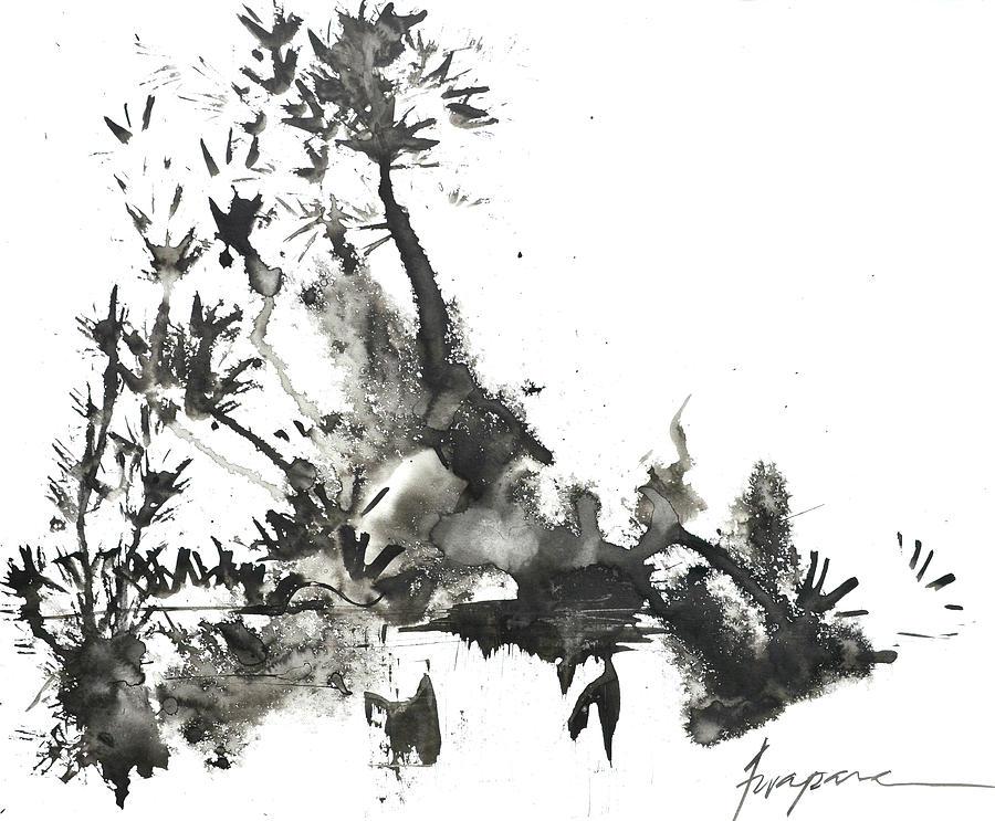 abstract ink art painting by patricia awapara
