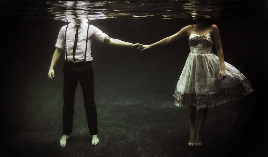 Abyss Of The Disheartened : Couple Photograph by Heather Landis