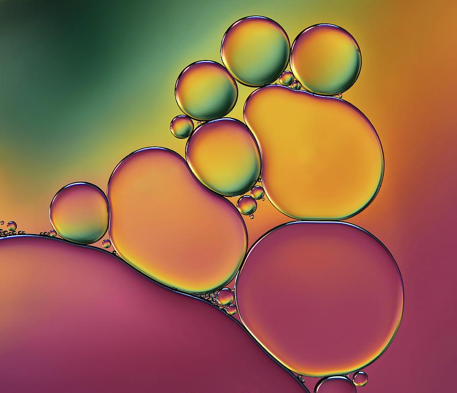 Color Photograph - Acrobats by Heidi Westum