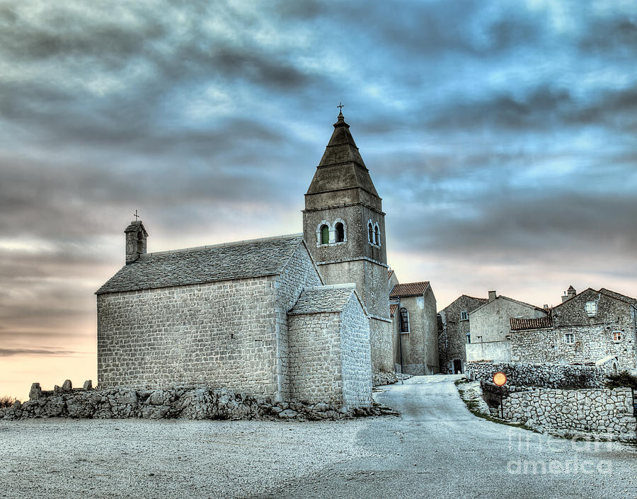 Adriatic Village Photograph