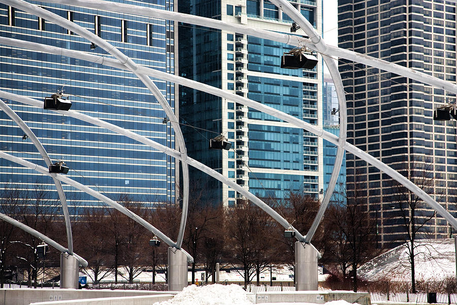 Chicago Photograph - Advanced Geometry by Joanna Madloch