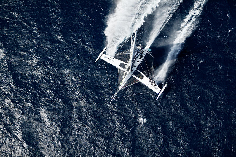 Aerial Photograph - Aerial Photo Shoot Of Lhydroptere Dcns by Christophe Launay