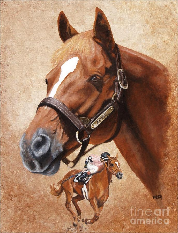 Affirmed Painting - Affirmed by Pat DeLong