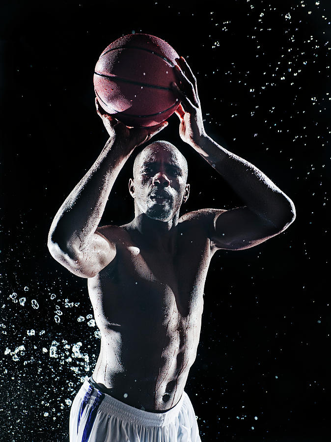 African American Basketball Player Photograph by Erik Isakson