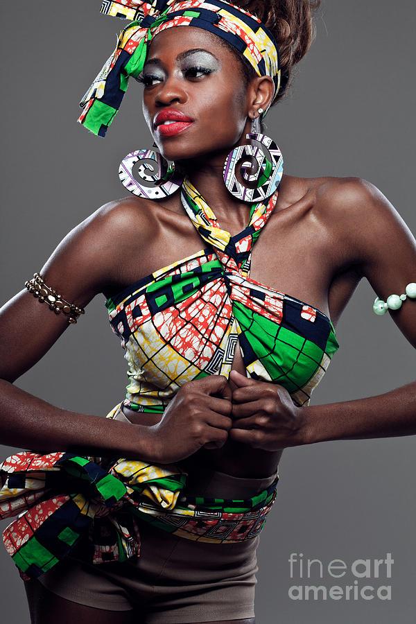 African American Fashion Model Photograph By Yaromir Mlynski