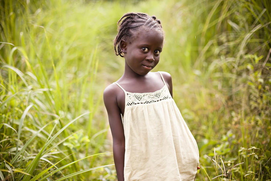 African Girl 1 Photograph by Himarkley