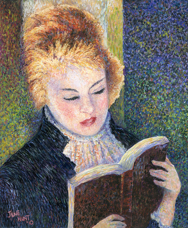 Impression Painting - After Renoir by June Hunt