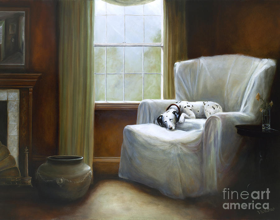 Victorian Painting - Afternoon Nap by Stella Violano