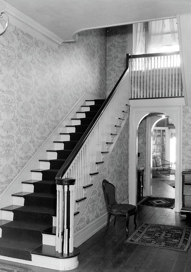 1935 Photograph - Alabama House Interior by Granger