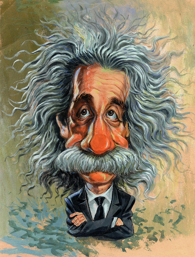 Albert Einstein Painting - Albert Einstein by Art