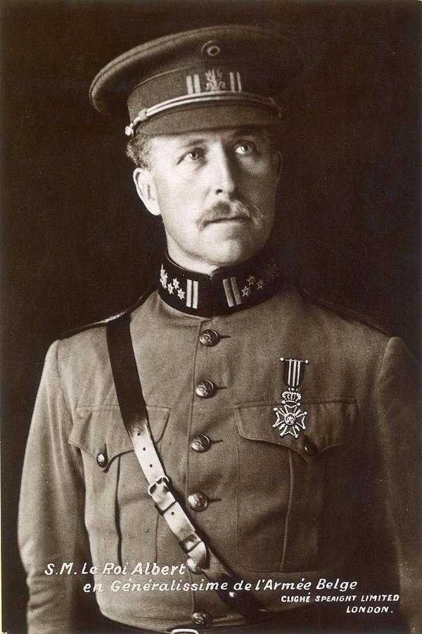 1910 Photograph - Albert I (1875-1934) by Granger