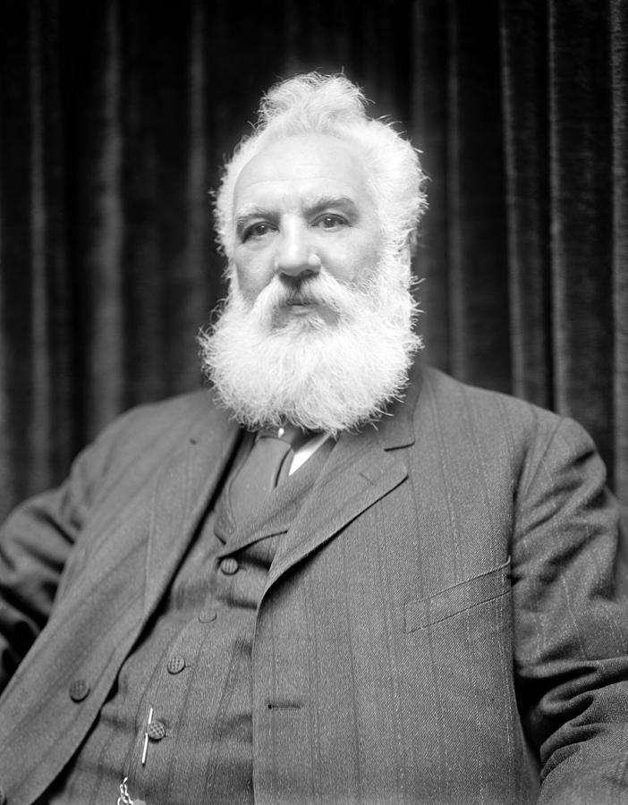 Alexander Graham Bell Photograph - Alexander G. Bell, Scottish-us Inventor by Science Photo Library