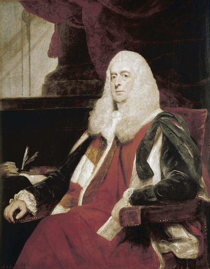 1785 Painting - Alexander Wedderburn (1733-1805) by Granger