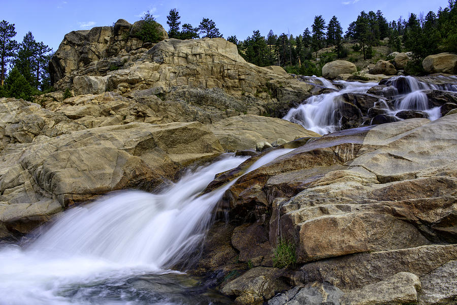 Rockies Photograph - Alluvial Fan by Tom Wilbert