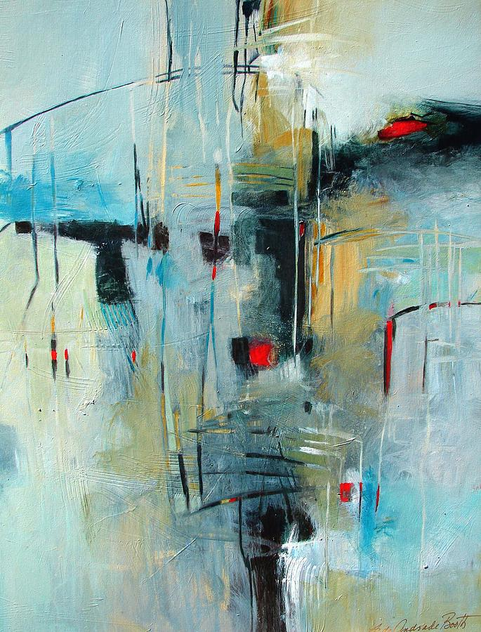Abstract Painting - Almost There 1 by Filomena Booth