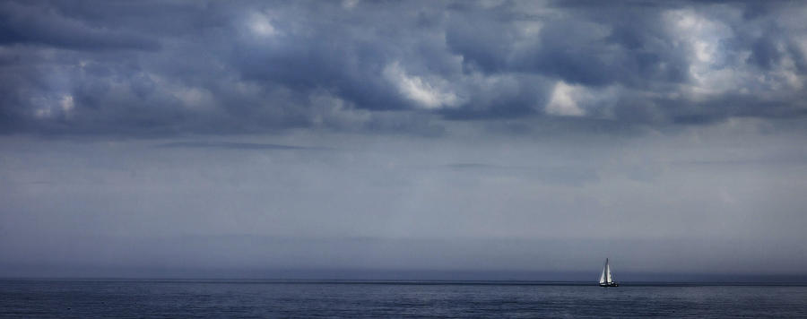 Atlantic Ocean Photograph - Alone by Don Powers